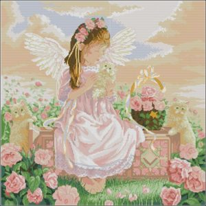 Tender loving care (Ангел и кошка)