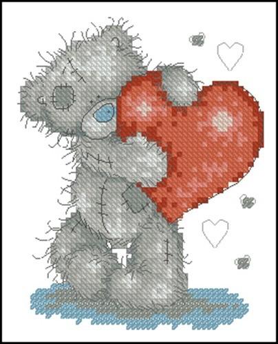 Tatty Teddy - Hearts