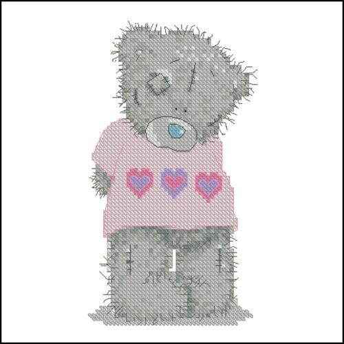 Тедди в розовой футболке