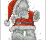 Tatty Teddy Santa