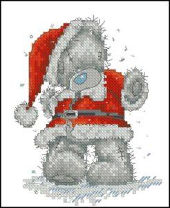 Tatty Teddy Santa