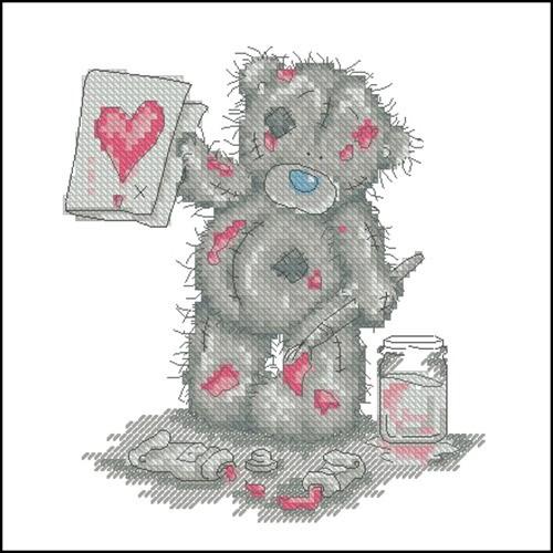 TT104 Painting Hearts