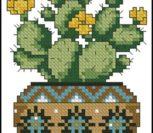 Cross stitch cacti 3