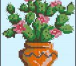 Cross stitch cacti 4