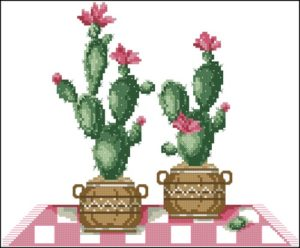 Cross stitch cacti 7