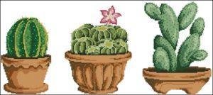 Cross stitch cacti 9