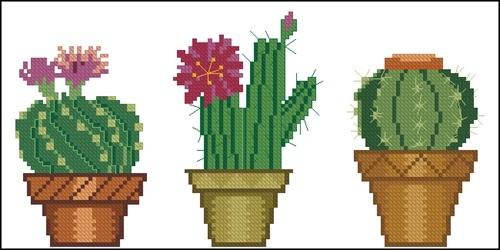 Cross stitch cacti 10