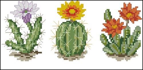 Cross stitch cacti 11