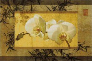Орхидеи и бамбук