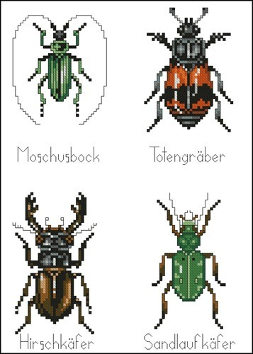 Четыре жука
