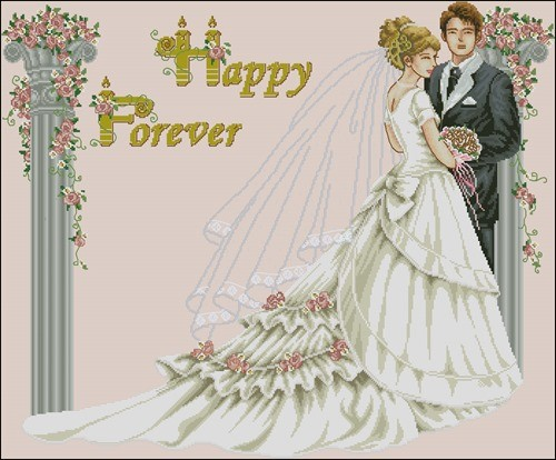 41107 Happy Wedding