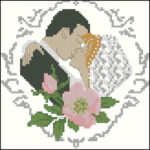 """Свадебная метрика """"Поцелуй"""""""