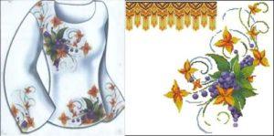 Сорочка жіноча «Квiткова фантазiя»