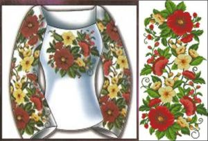Сорочка жіноча «Квіткова»