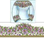 """Сорочка жіноча """"Квітковий розмай"""""""