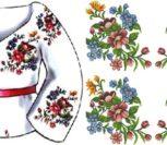 """Сорочка жіноча """"Квіткова пектораль"""""""