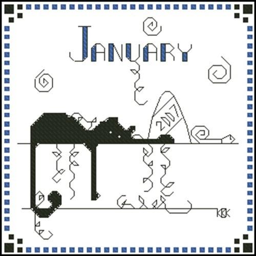 January – Черная кошка