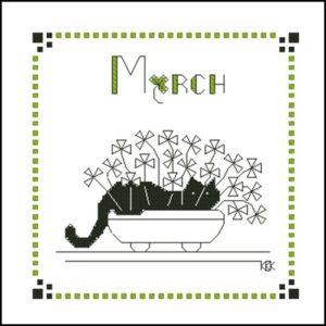 Februrary – Черная кошка