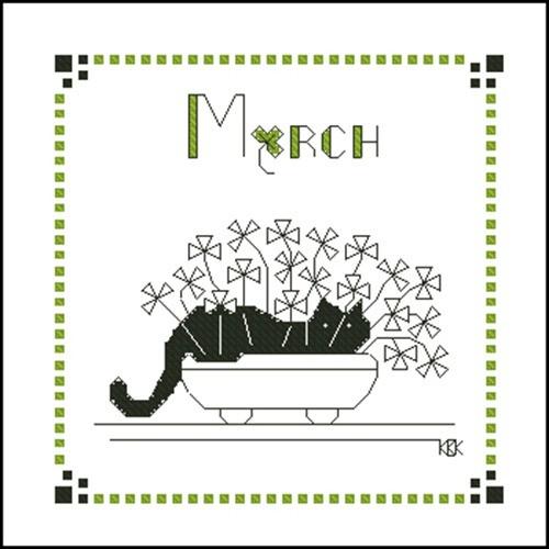 March – Черная кошка