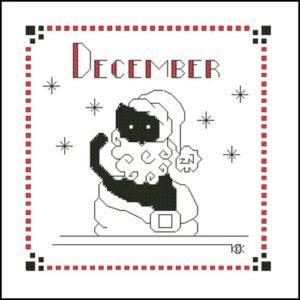 December – Черная кошка