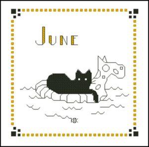June – Черная кошка
