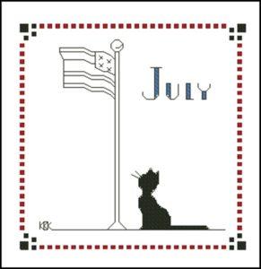 July – Черная кошка