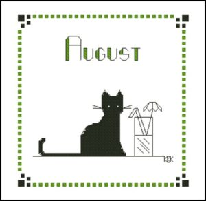 August – Черная кошка