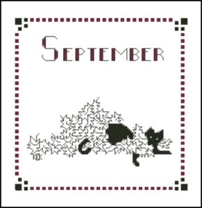 September – Черная кошка