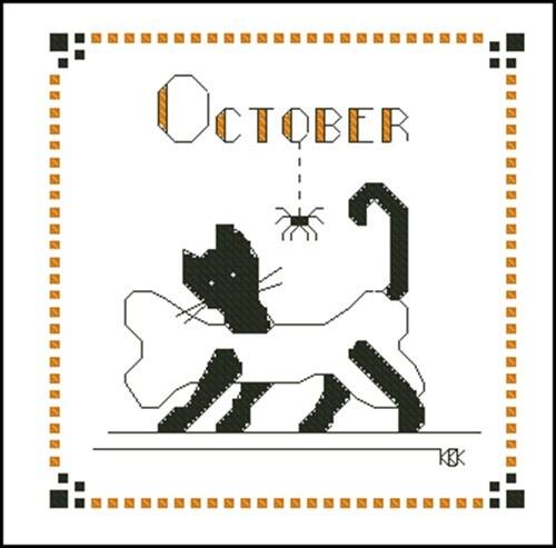 October – Черная кошка