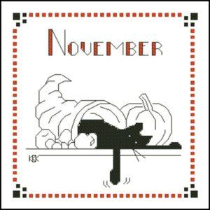 November – Черная кошка