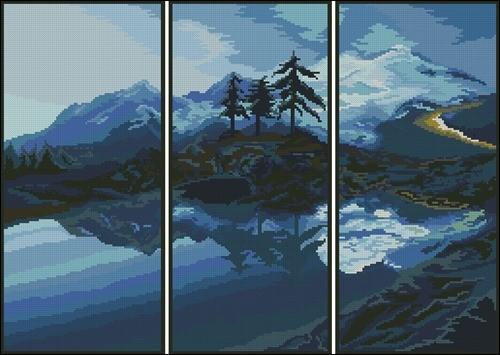 Triptix Mountain Lake