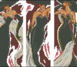 """Триптих """"Дама в черном"""""""