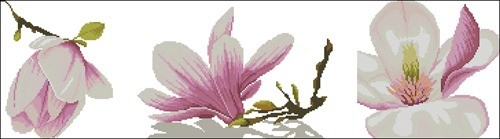 "Триптих ""Веточка орхидеи"""