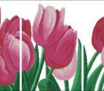 Триптих Тюльпаны 02137