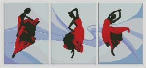 "Триптих ""Страстные танцы"""