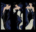 Элегантная леди (триптих)