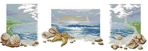 """Триптих """"Звуки моря"""""""