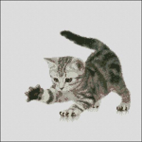 Игривый котенок 2