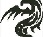 Черный дракон графика