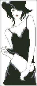 LADY Black & White