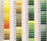 Карта цветов мулине Bestex – живая таблица всех оттенков
