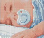 Спящий младенец (мальчик)