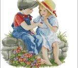 Детство... мальчик и девочка
