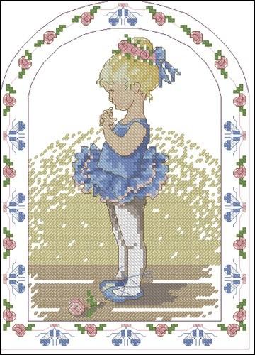 Девочка-балерина
