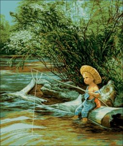 Goblenset 788 Micul pescar