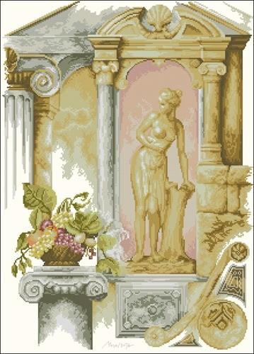 Фрески античность архитектура