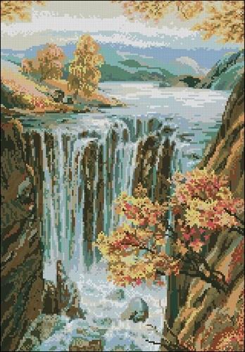 Водопад (974)