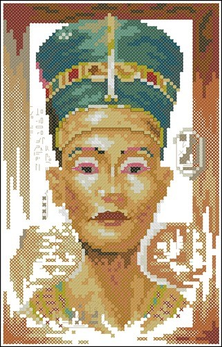 Queen nefertiti (small) N°34739