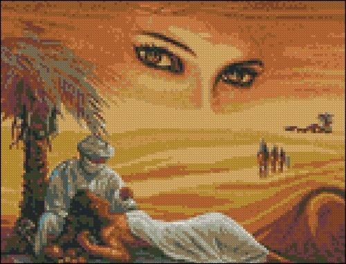 Глаза в пустыне