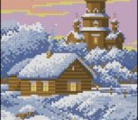 Крещенские морозы (церковь зимой)